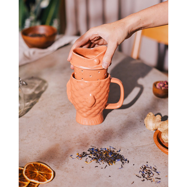 "Tasse à thé ""Poisson"""