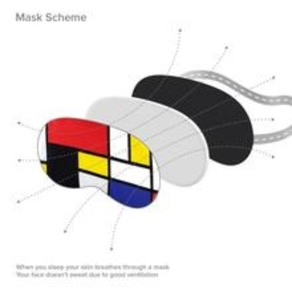 Masque de sommeil Mondrian