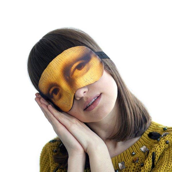 Mona Lisa Schlafmaske