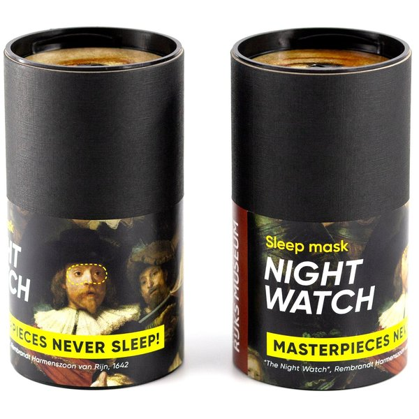 Night watch sleep mask