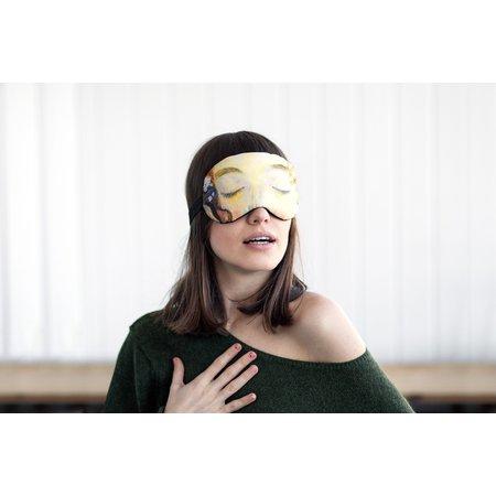 Klimt le masque de sommeil kiss