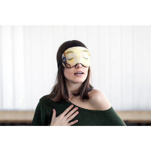 Klimt the kiss sleep mask