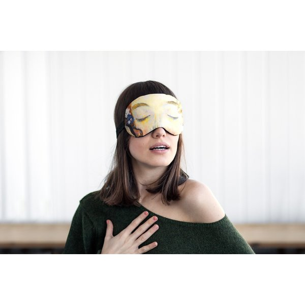 Klimt the kiss sleep mask