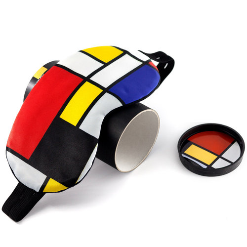 Mondrian sleep mask