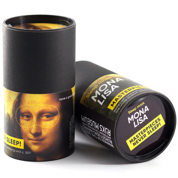 Mona Lisa slaapmasker