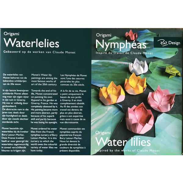Water lilies from Monet