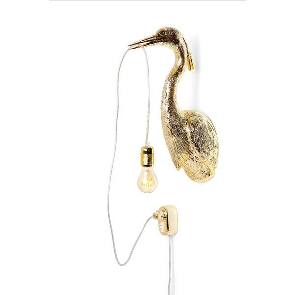 La lampe hollandaise volante doré
