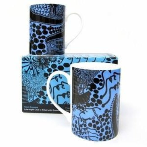 Yayoi Kusama Late Night Chat Mug Set