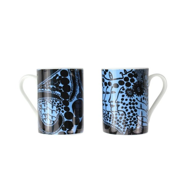 Ensemble de tasses Yayoi Kusama Late Night Chat