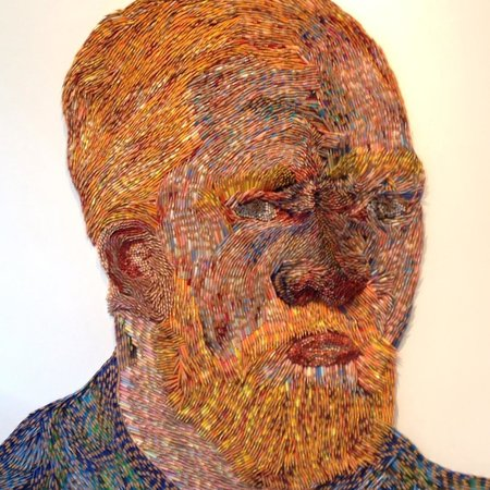 Exclusive van Gogh artwork by Georges Monfils