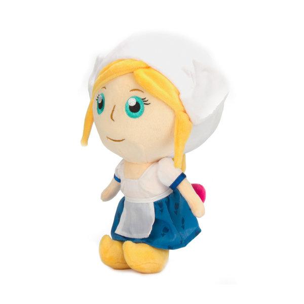"""Dutchies pluche pop 'Farmgirl"""" 20 cm"""