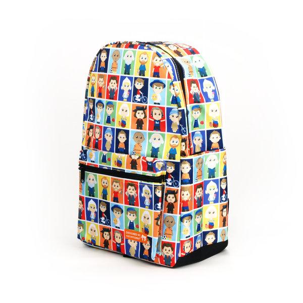 "Backpack ""The Dutchies"" portraits"