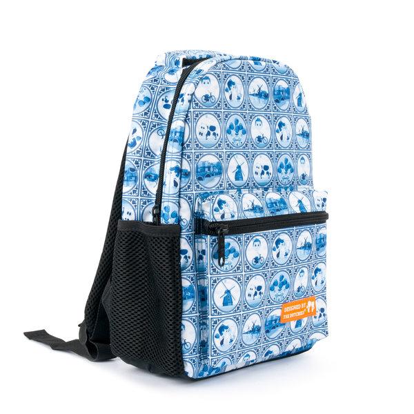 """Backpack """"Delft Blue"""""""