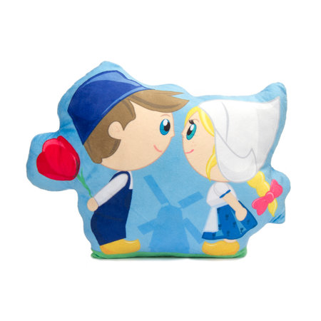 "Cushion Dutchies ""Kissing couple"""