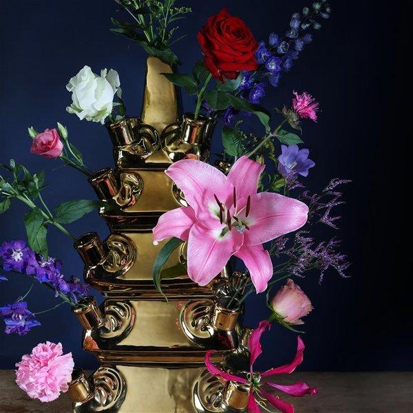 Golden Rijksmuseum tulipe vase édition limitée