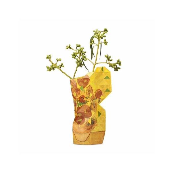 Paper vase van Gogh