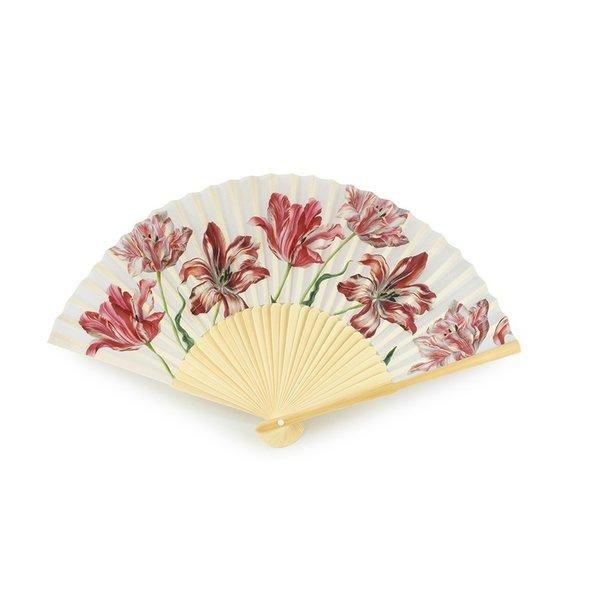 Fan with tulips - Copy