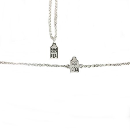 Canal house bell gable necklace and bracelet