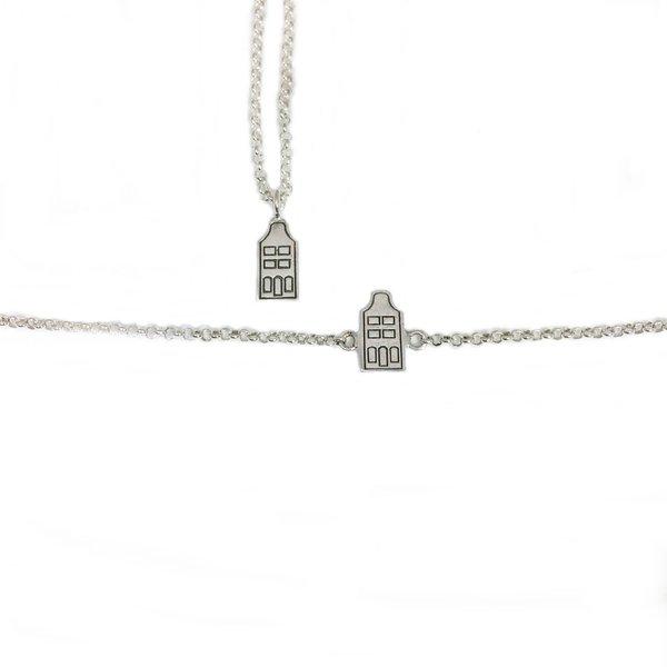 Kanalhaus Halskette und Armband