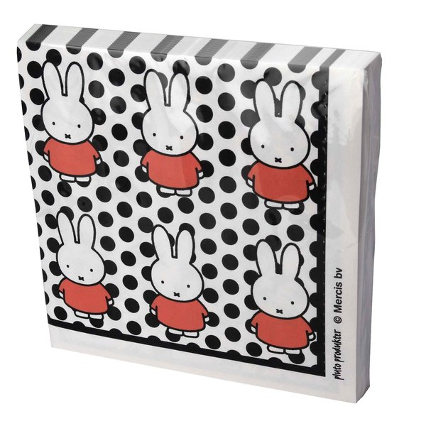 serviettes miffy