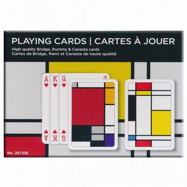Playing card set Mondrian