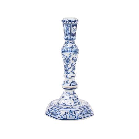 Delfter blauer Kerzenhalter