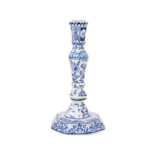 Delft blue candlestick