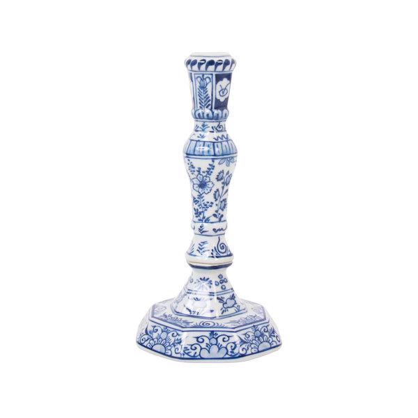 Chandelier bleu de Delft