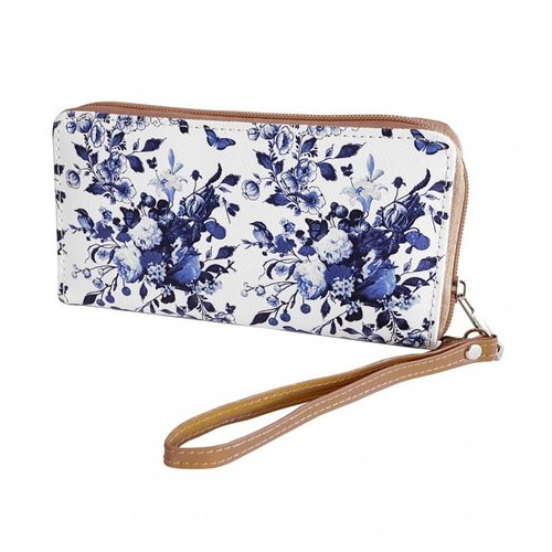 Wallet Delft blue
