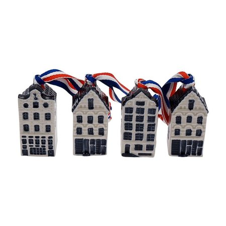4 canal houses on ribbon