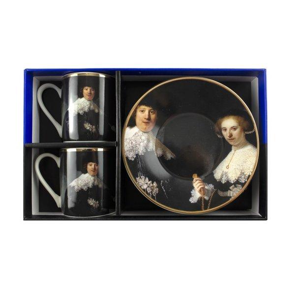 Service à expresso Marten & Opjen Rembrandt Rijksmuseum