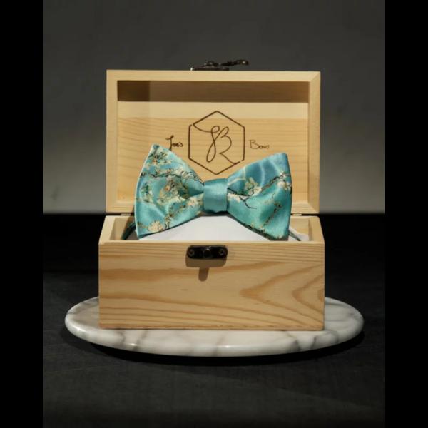 Van Gogh Almond blossom bow tie