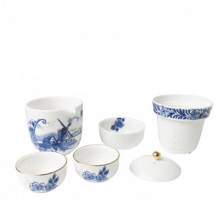 Tea set East meets West
