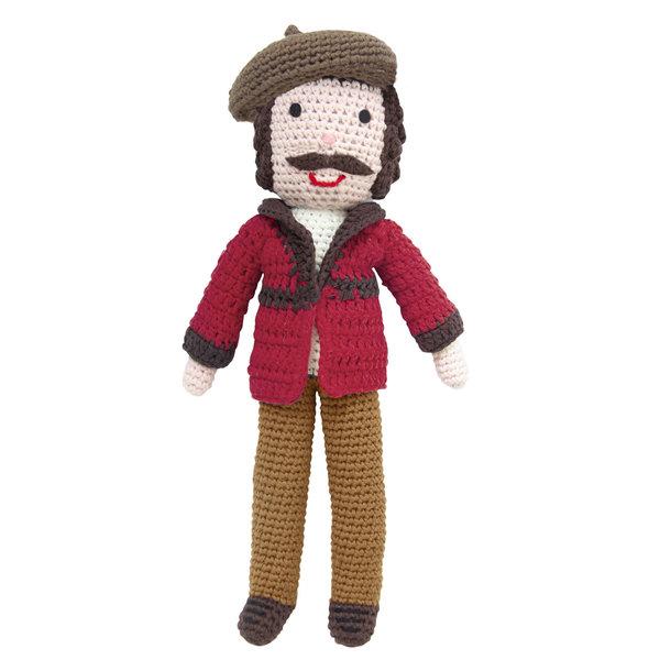 Rembrandt gehäkelte Puppe