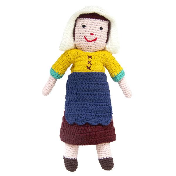 Laitière de poupée au crochet Vermeer