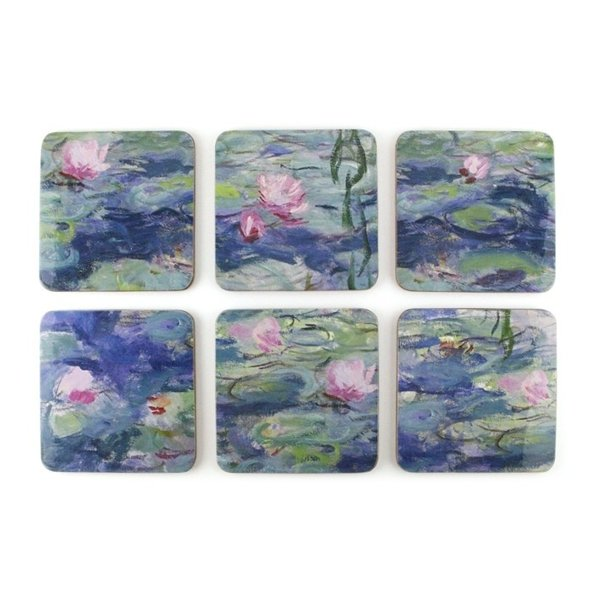 Onderzetters Monet waterlelies