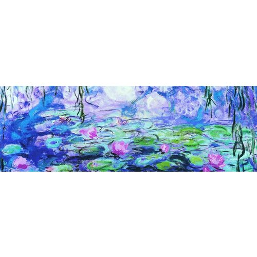 Puzzle water lilies by Claude Monet