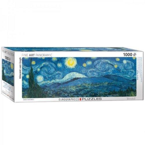 Puzzle Nuit étoilée Vincent van Gogh Panorama