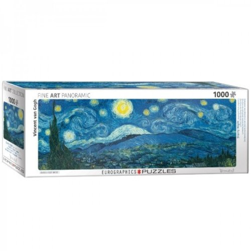 Puzzle Starry Night Vincent van Gogh Panorama