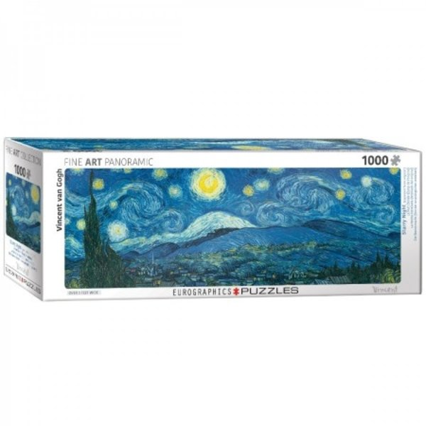 Puzzel Starry Night  Vincent van Gogh Panorama