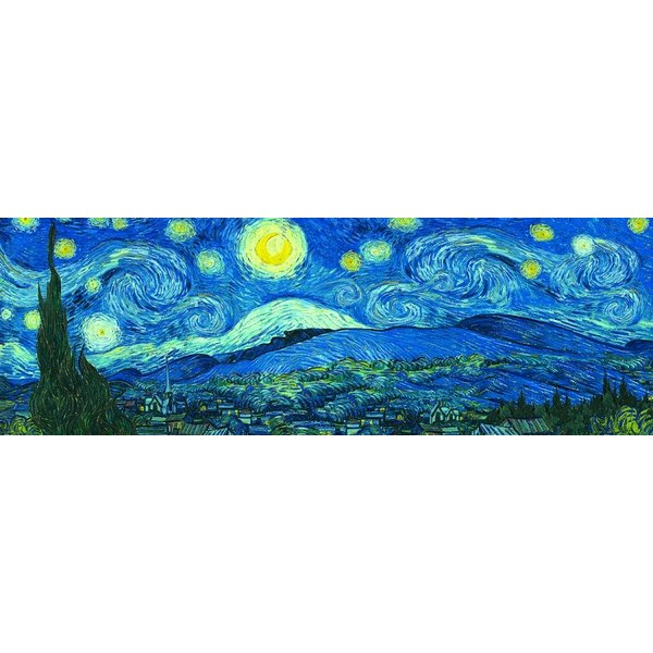 Puzzle Sternennacht Vincent van Gogh Panorama