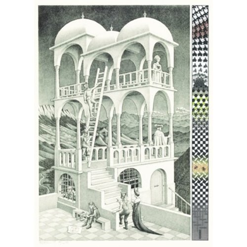 """Belverdere""Escher  puzzel"