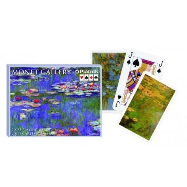Set speelkaarten Monet waterlelies