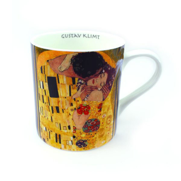 """The Kiss"" Klimt cup"