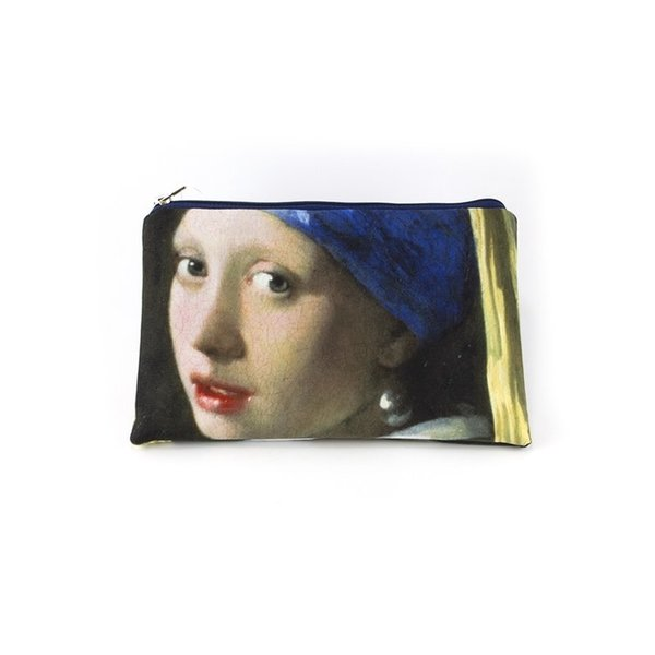 make-up bag / pouch Girl with a pearl earring