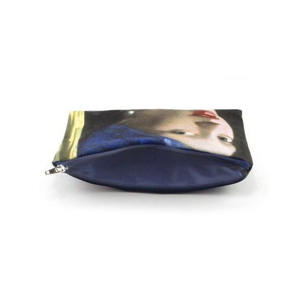 Schminktasche / Beutel Mädchen mit Perlenohrring