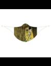 Duurzaam mondkapje De kus van Klimt