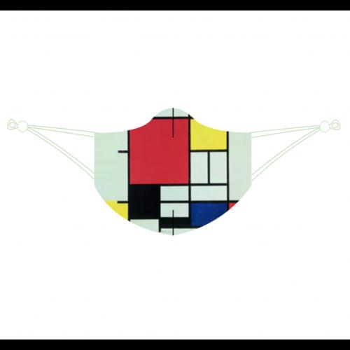 Gesichtsmaske Mondrian