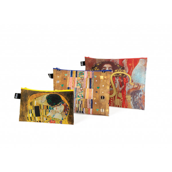 3 Zip pockets Klimt