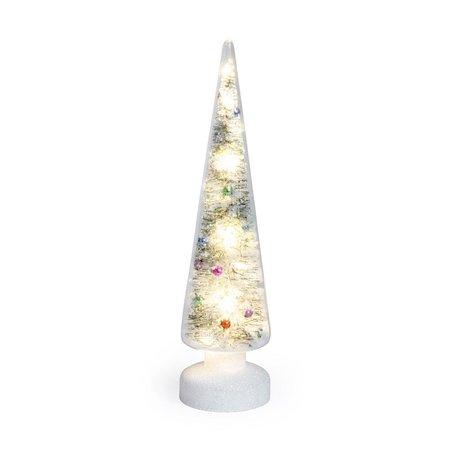 Weihnachtsbaum 'Schnee' mit LED-Licht MOMA